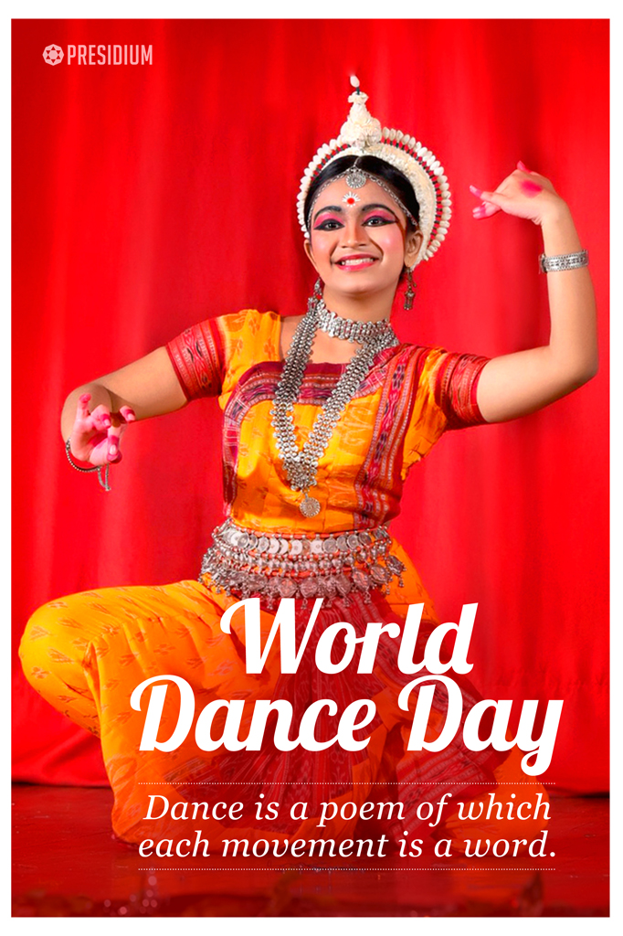 PRESIDIANS CELEBRATE SPIRIT OF RHYTHM & MUSIC ON WORLD DANCE DAY!