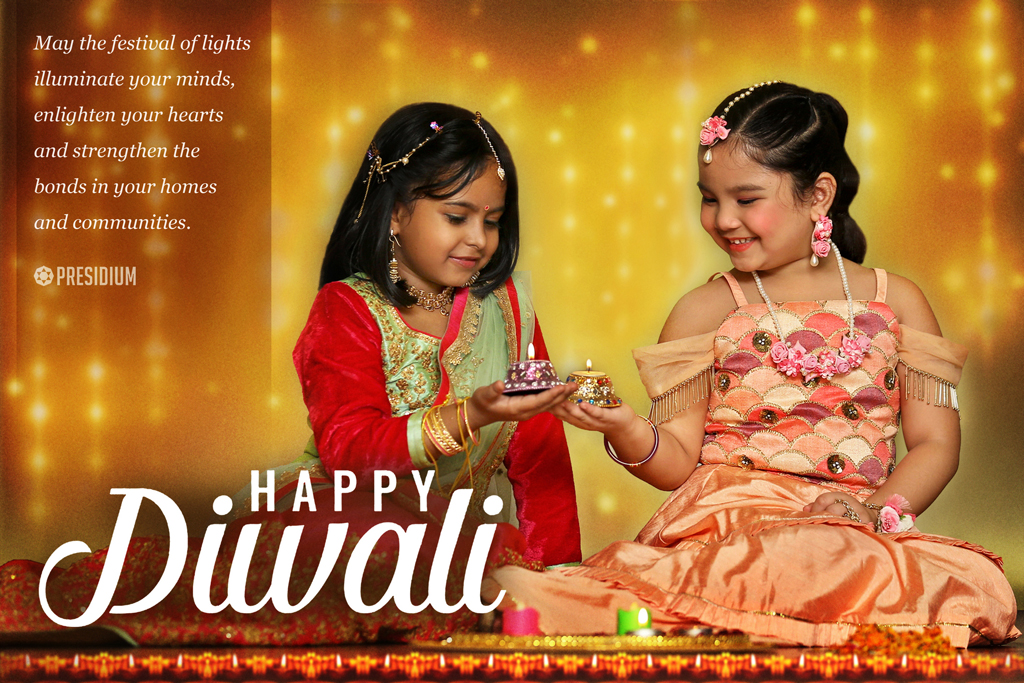 DIWALI: LET'S FILL THE ATMOSPHERE WITH SPIRITS OF MIRTH AND LOVE