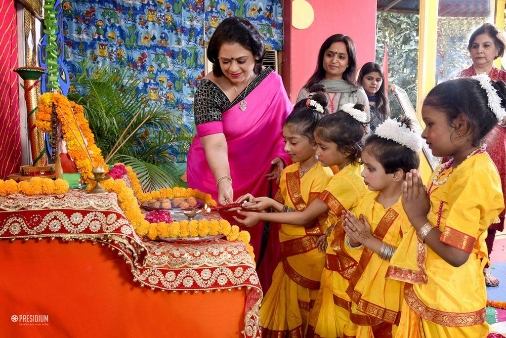 DIWALI WITH SUDHA MA'AM LENDS AN AURA OF SERENITY AT PRESIDIUM