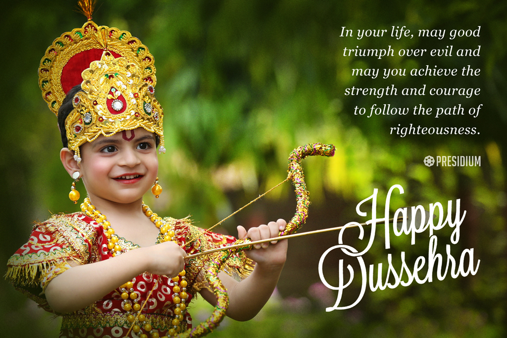 PRESIDIANS SPREAD A SIGNIFICANT MESSAGE, THIS DUSSEHRA