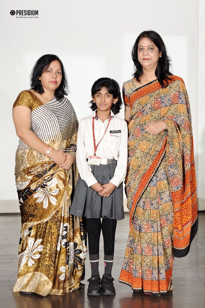NYONICA BAGS 1ST POSITION IN ZONAL HINDI DECLAMATION COMPETITION