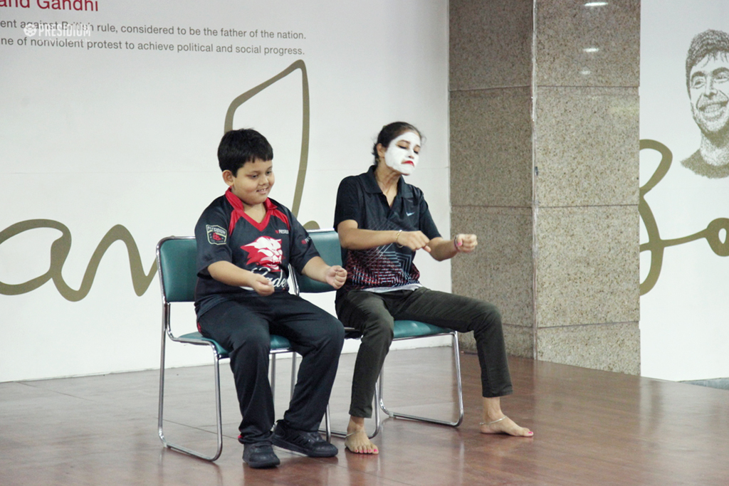 Presidium School, MIME SHOW OFFERS A FUN-FILLED LEARNING EXPERIENCE USING ACTIONS