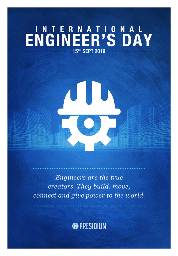 ENGINEER'S DAY: SALUTING ENGINEERS FOR THEIR INNOVATIONS & IDEAS!