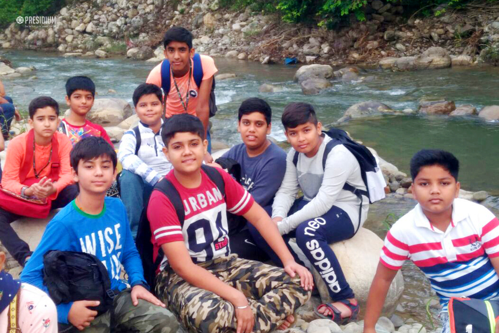 YOUNG ADVENTURERS OF PRESIDIUM RELISH THE BEAUTY OF JIM CORBETT
