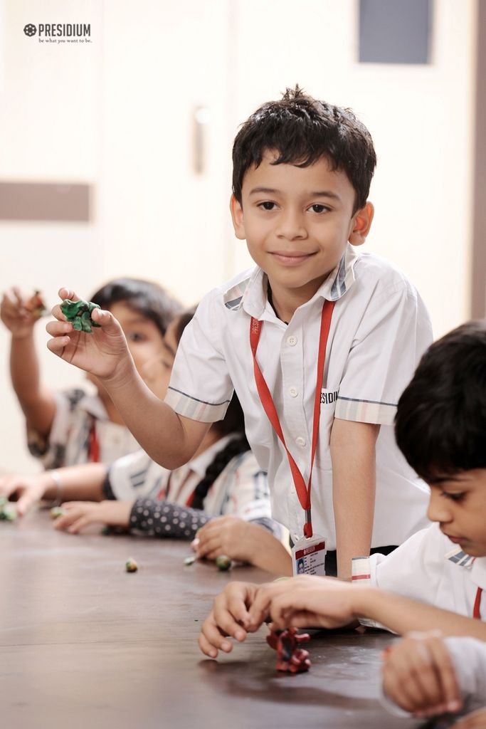PLAY WITH CLAY: LITTLE PRESIDIANS RELISH A POTTERY ADVENTURE