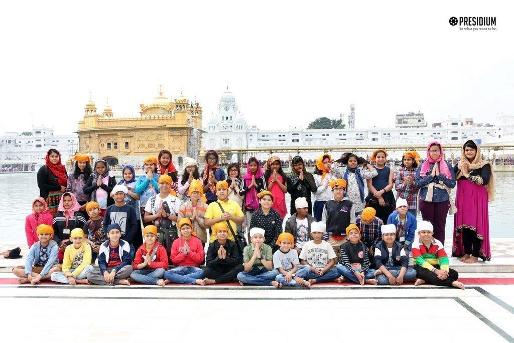 THE GOLDEN CITY OF PUNJAB, AMRITSAR WELCOMES PRESIDIANS