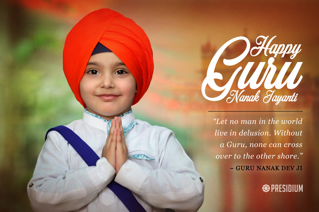 """Let no man in the world live in delusion. Without a Guru, none can cross over to the other shore.""- Guru Nanak"