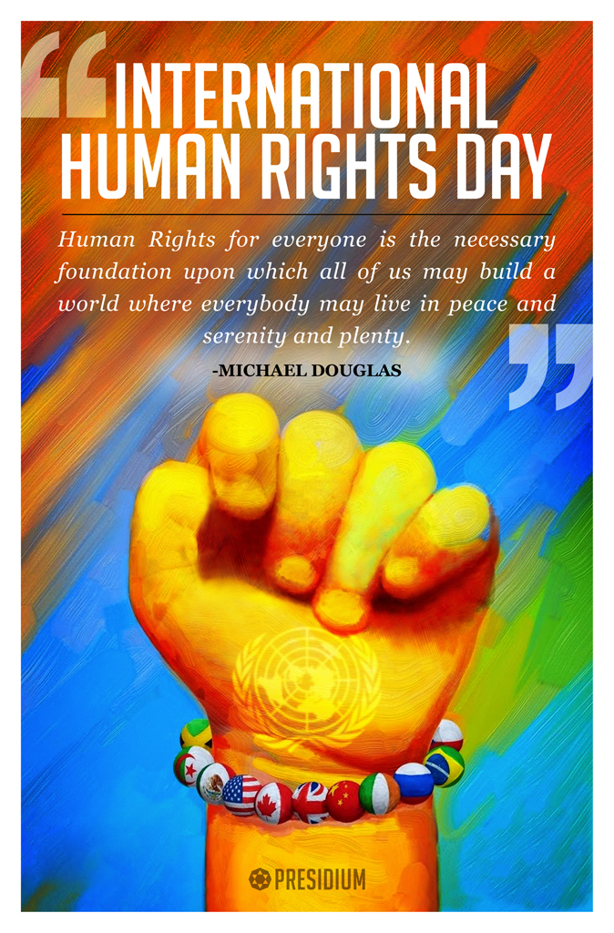 LET US PLEDGE TO UPHOLD THE RIGHTS OF ALL MANKIND
