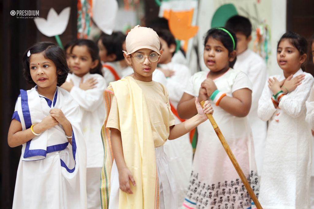 PRESIDIANS SALUTE THE FATHER OF THE NATION ON GANDHI JAYANTI