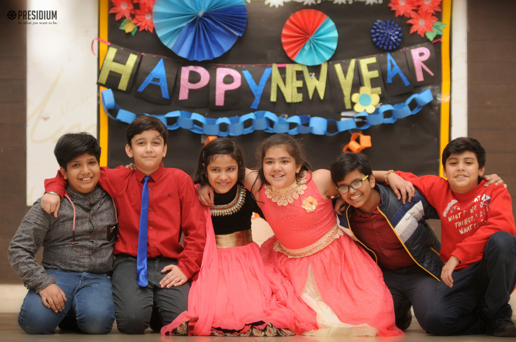 Special Assembly on New Year 2018 Resolutions