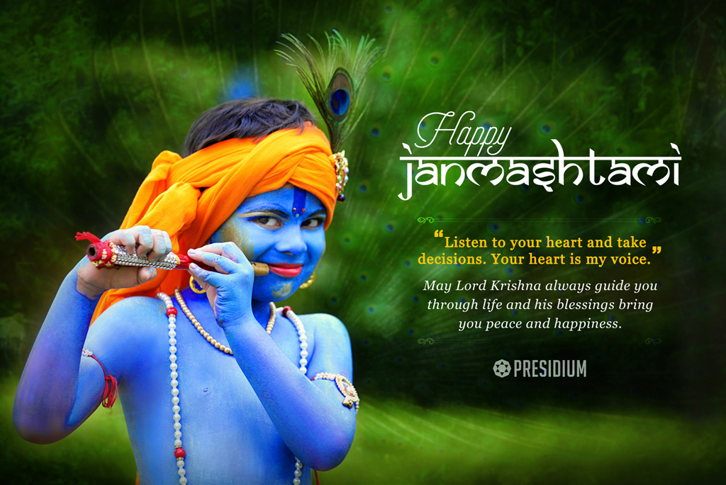 PRESIDIANS SEEK THE BENEDICTION OF LORD KRISHNA ON JANMASHTAMI