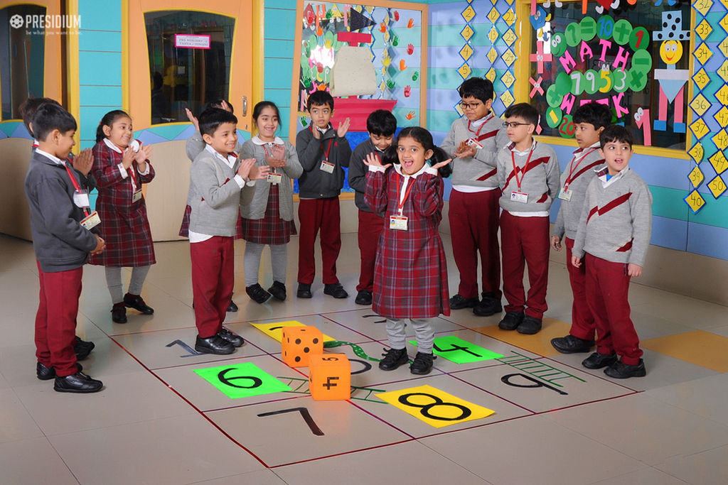 MATHS WEEK: EXPERIENCING THE MAGIC OF NUMBERS AND PATTERNS