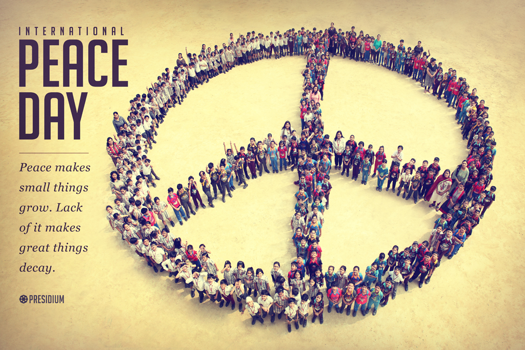 INTERNATIONAL PEACE DAY: JOIN HANDS IN GLOBAL PEACE