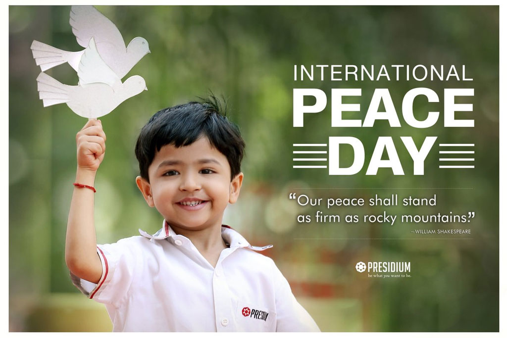 PRESIDIANS UNITE FOR HARMONY ON INTERNATIONAL DAY OF PEACE
