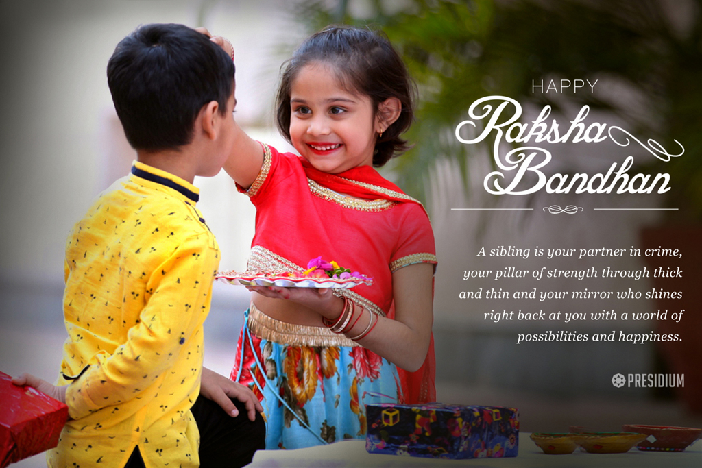 RAKSHABANDHAN: A DAY DEDICATED TO SIBLING LOVE!