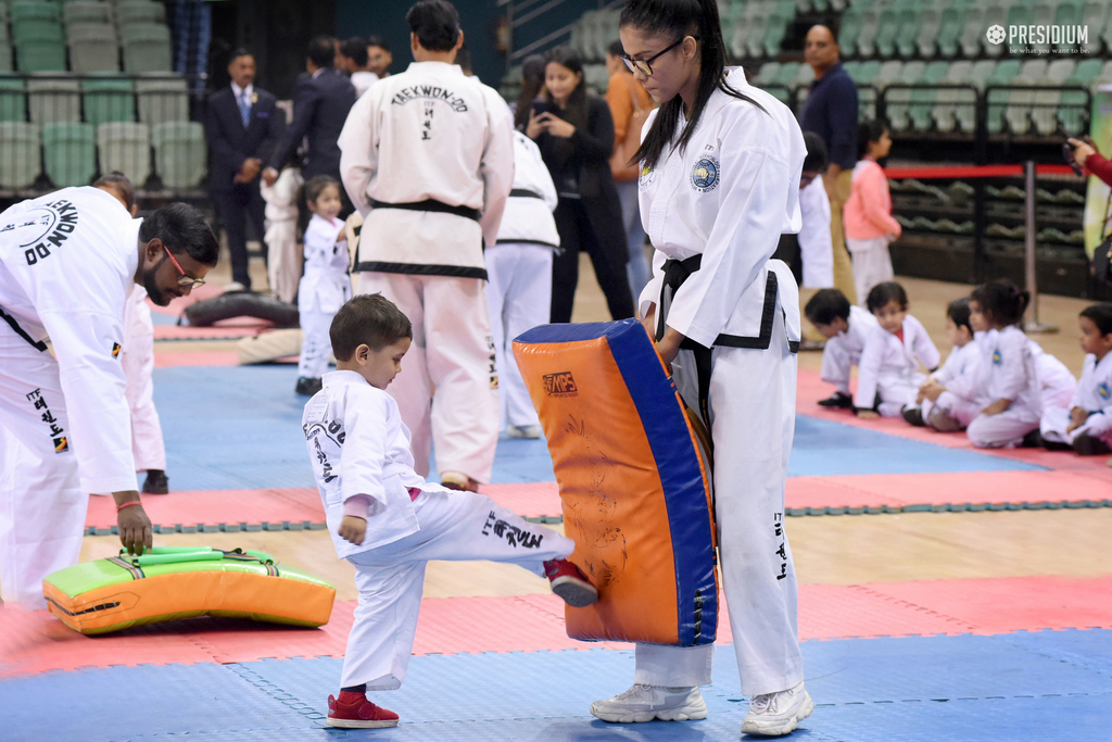 TAEKWONDO CHAMPIONSHIP: BEST FOOT FORWARD!