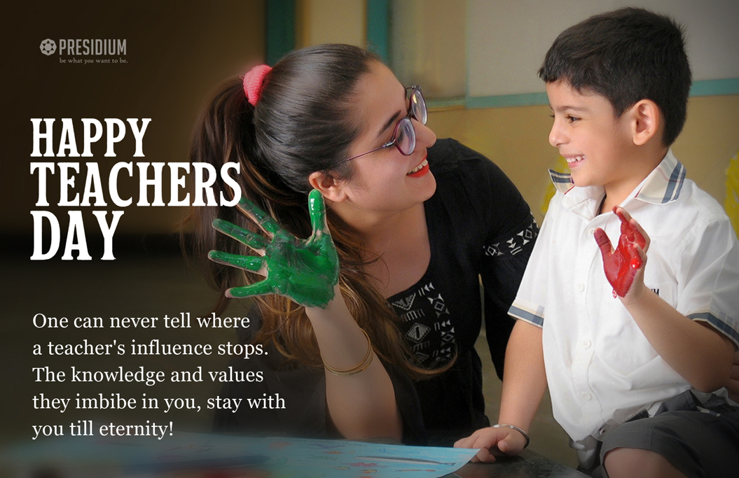 EXPRESSING ENDLESS APPRECIATION FOR ALL MENTORS ON TEACHERS' DAY
