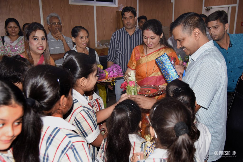 DELIGHTFUL RAKSHABANDHAN CELEBRATION WITH MR. ARVIND KEJRIWAL
