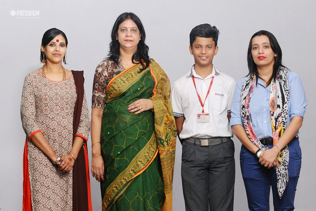 ZONAL LEVEL SLOGAN WRITING COMPETITION: UTKARSH WINS 2ND POSITION