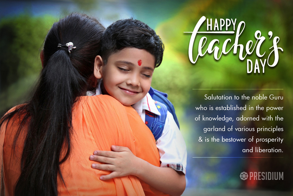 TEACHER'S DAY: THANK YOU TEACHERS FOR ALL YOUR LOVE & GUIDANCE