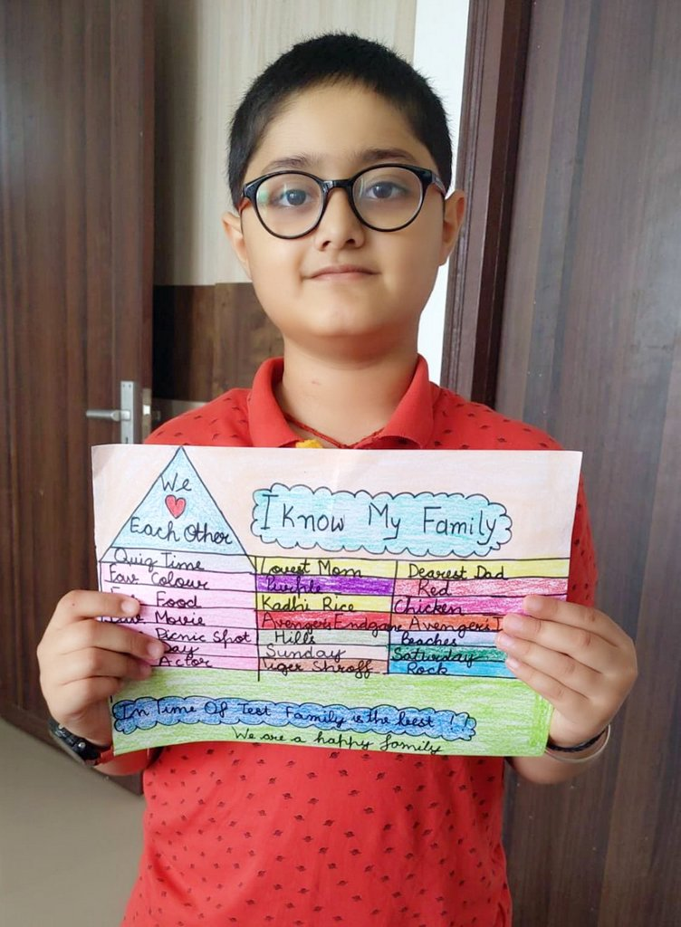 WORLD FAMILY DAY: STUDENTS SHOW THEIR LOVE FOR THEIR FAMILIES!