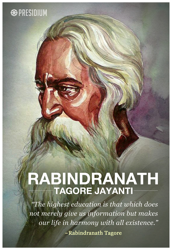 PRESIDIANS PAY TRIBUTE TO GURUDEV RABINDRANATH TAGORE!