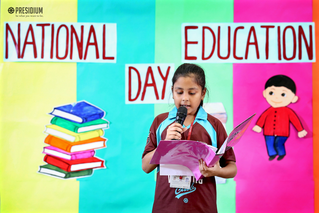 NATIONAL EDUCATION DAY 2019