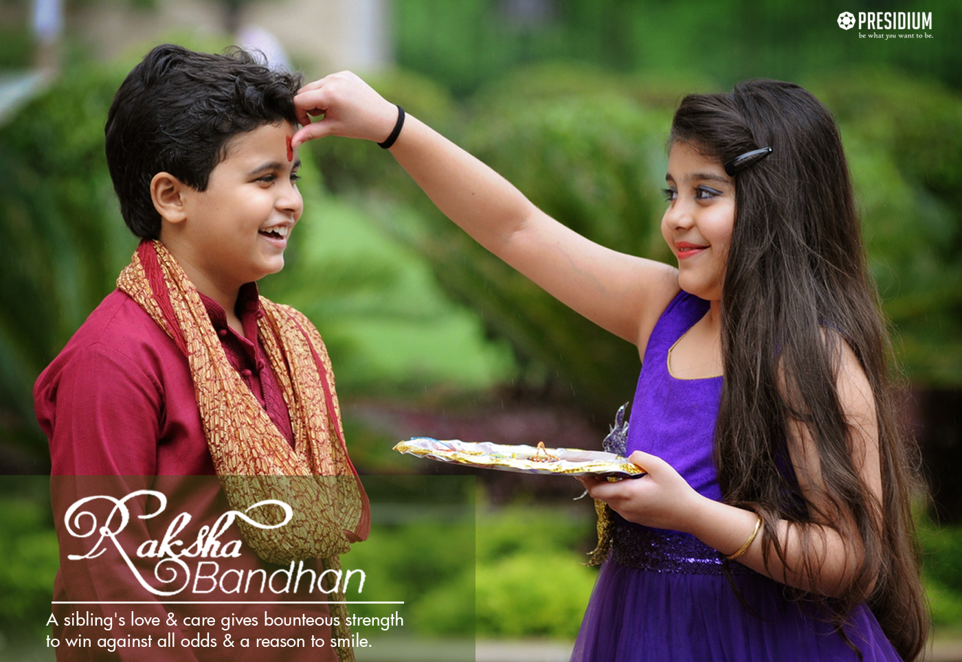 RAKSHABANDHAN CELEBRATION REJUVENATES THE CORRIDORS OF PRESIDIUM