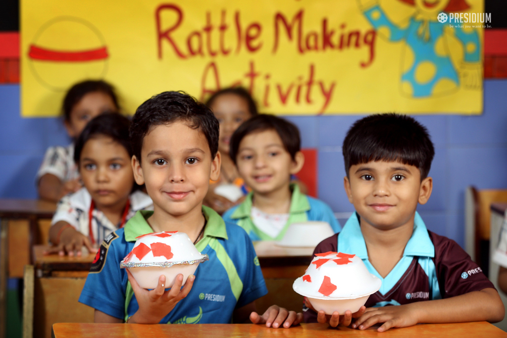 Rattle making activity 2019