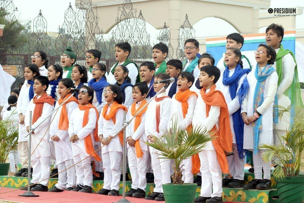 REPUBLIC DAY: PRESIDIANS CELEBRATE THE SPIRIT OF INCREDIBLE INDIA