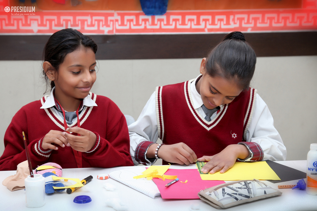 Inter-Class Puppet Making Competition