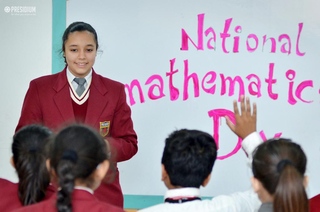 Mathematics day 2018
