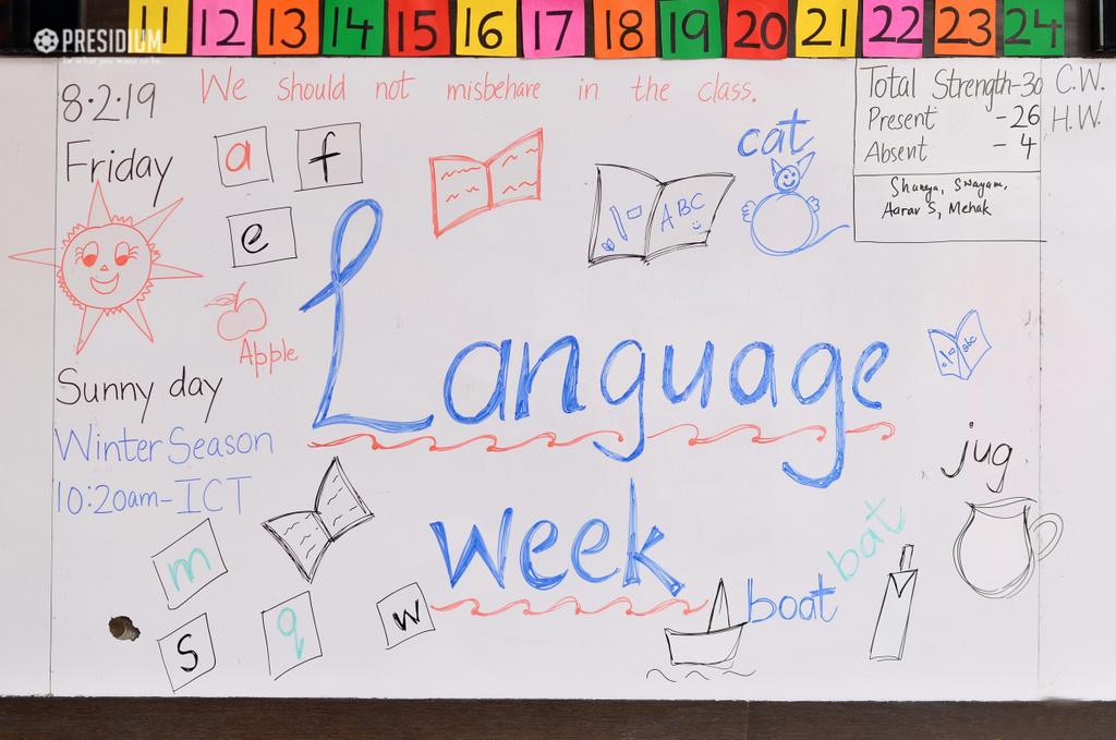 Language week  2019