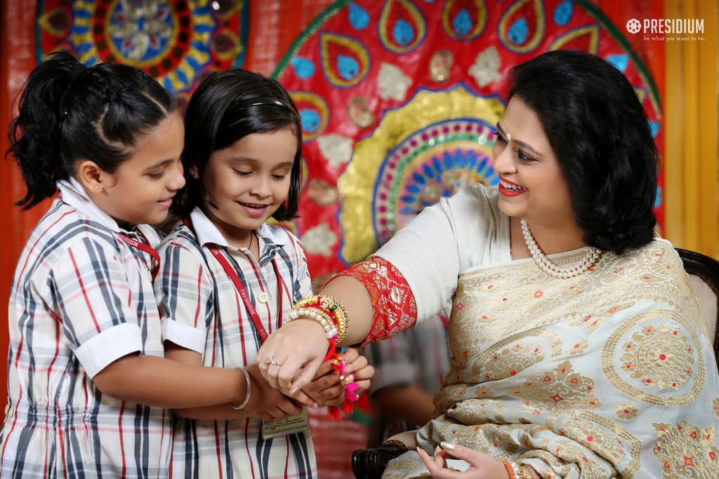 ACCENTUATING THE ESSENCE OF RAKSHABANDHAN WITH SUDHA MA'AM