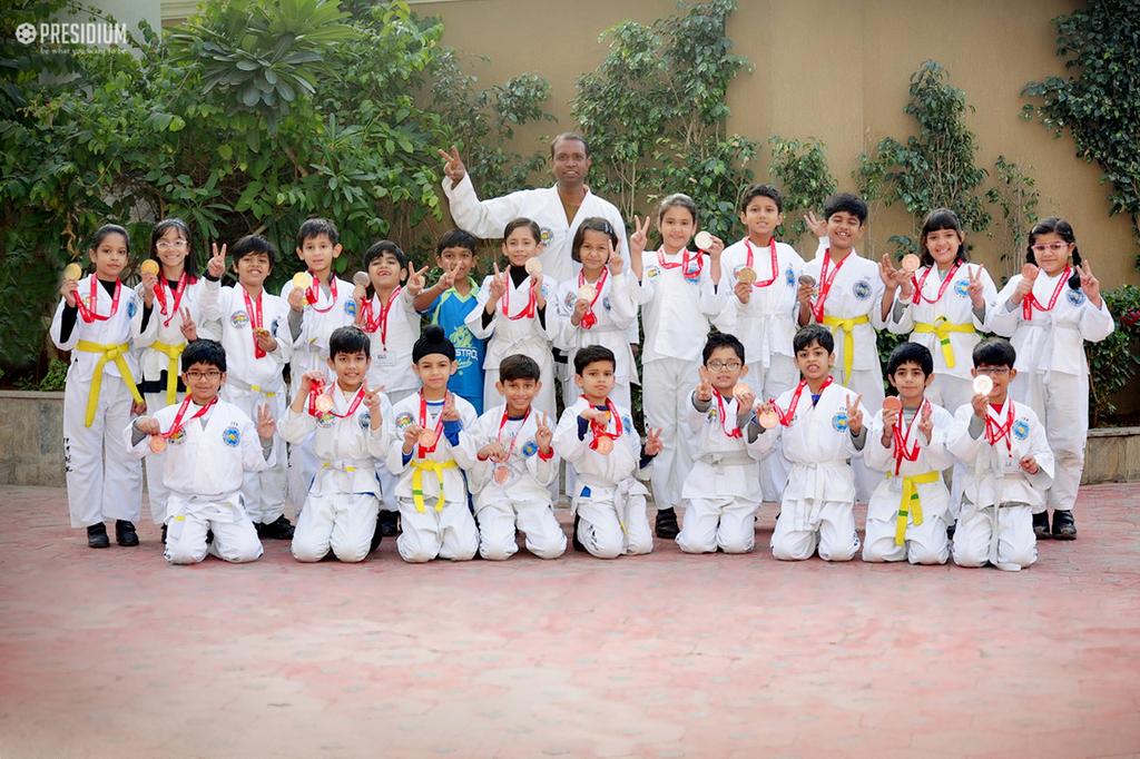 Taekwondo Achievement