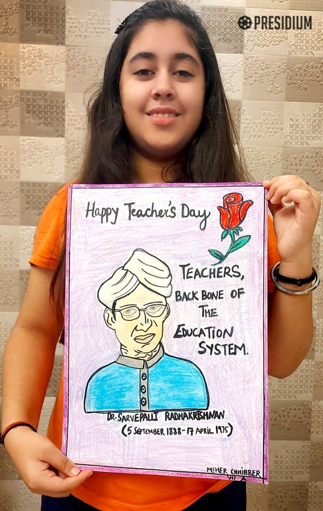 PRESIDIANS EXTEND THEIR GRATITUDE TO THEIR GURUS ON TEACHERS' DAY