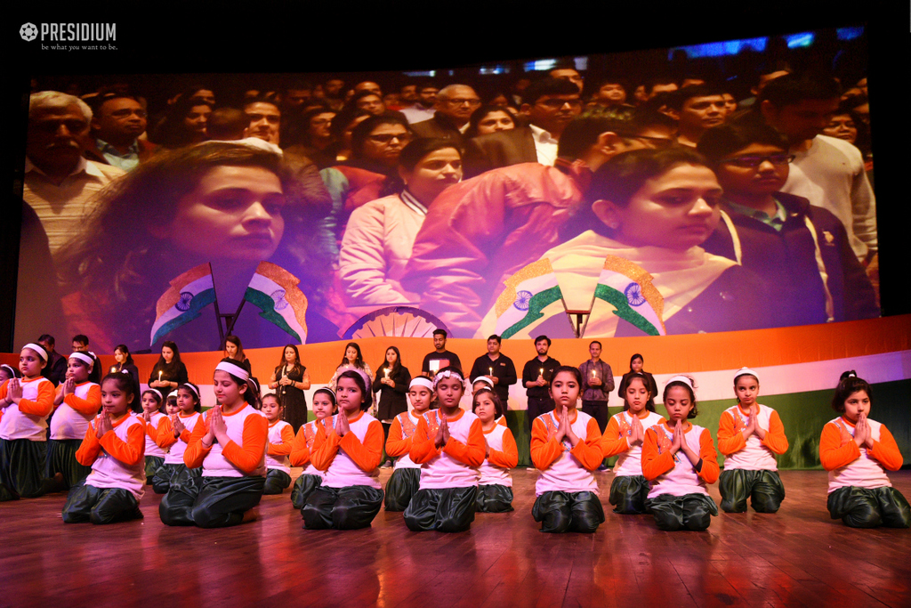 TRIBUTE TO THE CRPF MARTYRS AT FUTURE FEST 2019