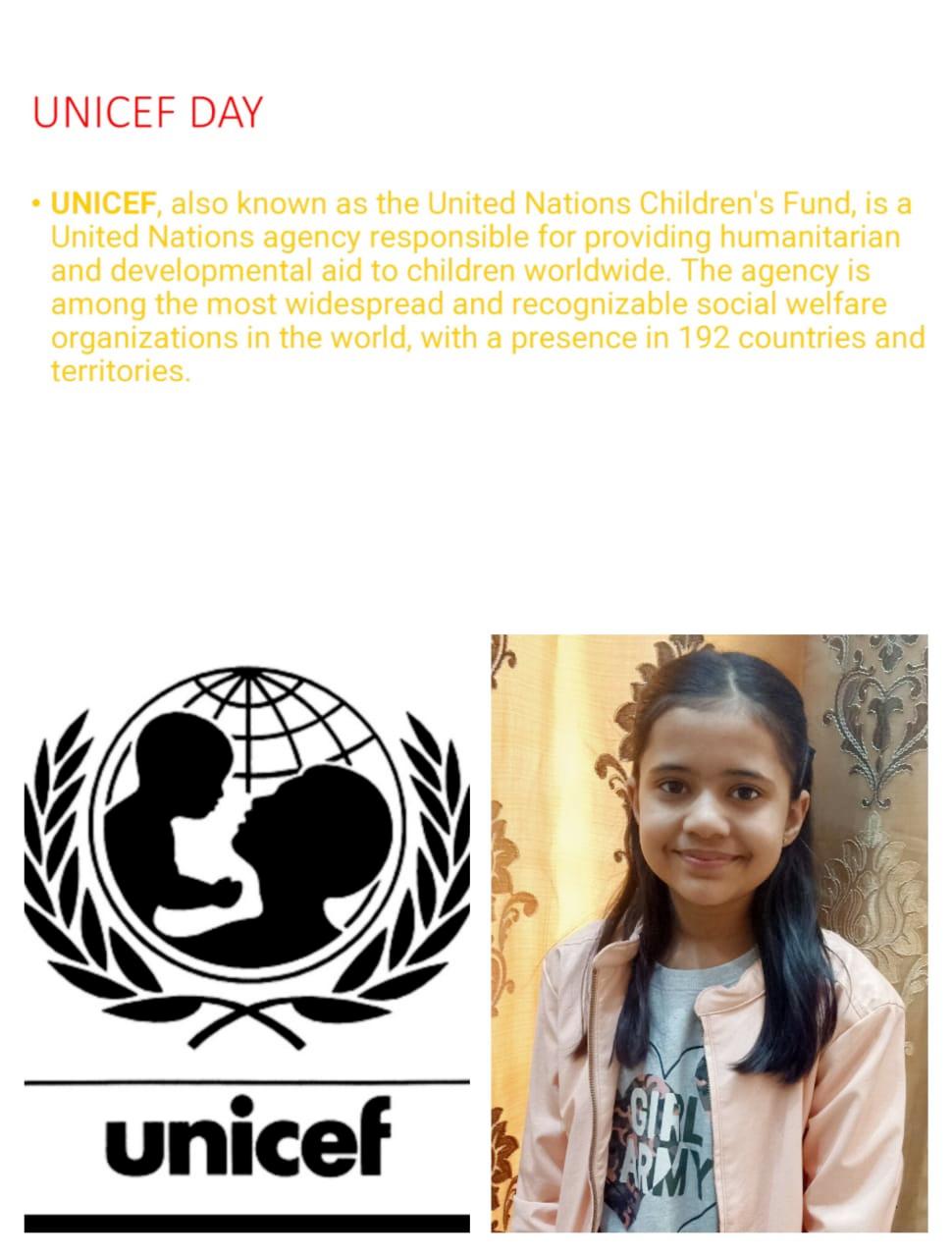 UNICEF DAY 2020
