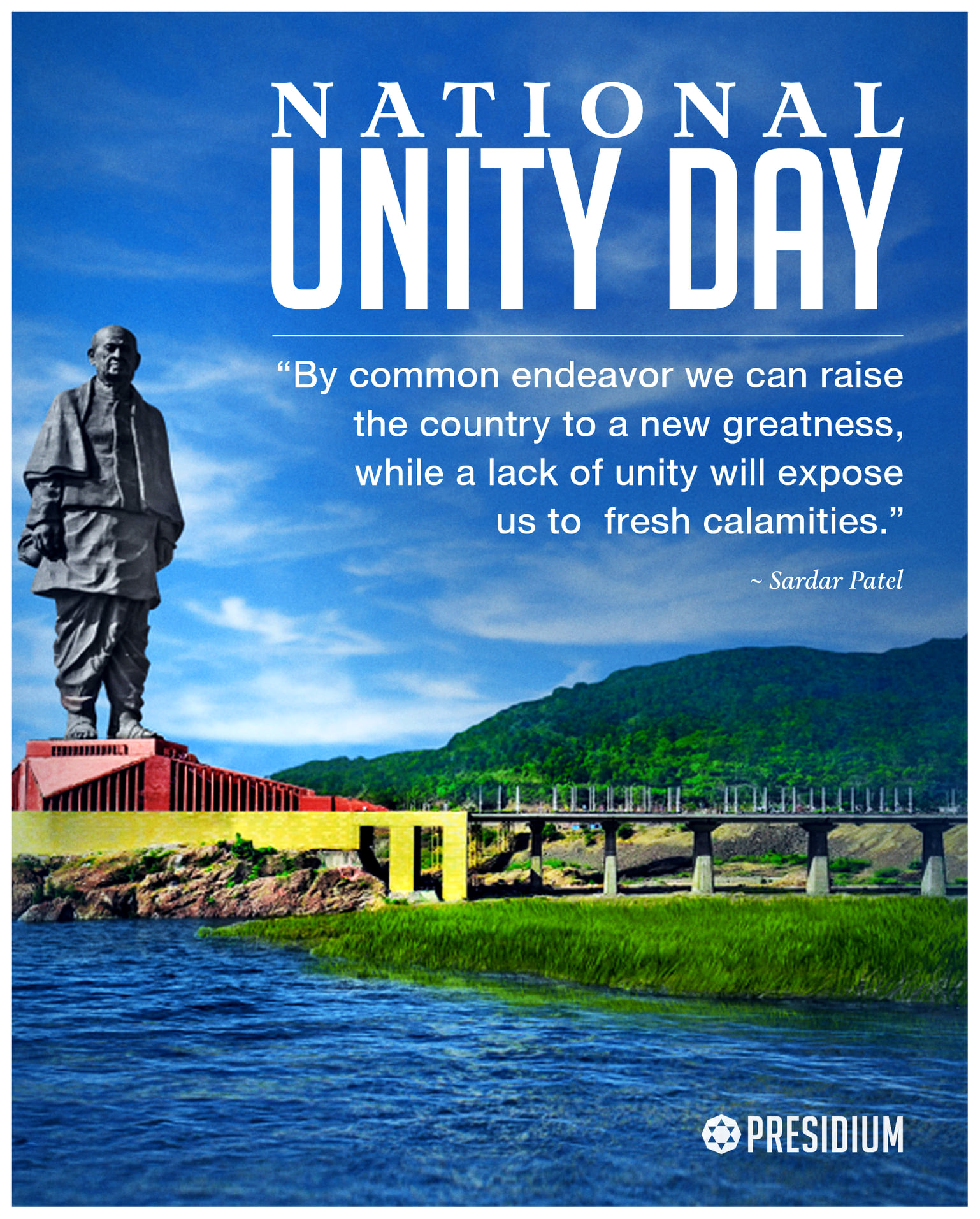 SALUTING THE WILL & RESOLVE OF INDIA'S IRON MAN