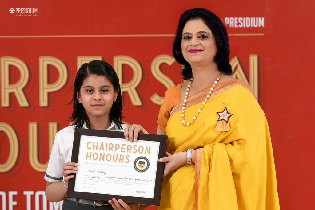 CHAIRPERSON HONOURS 2019