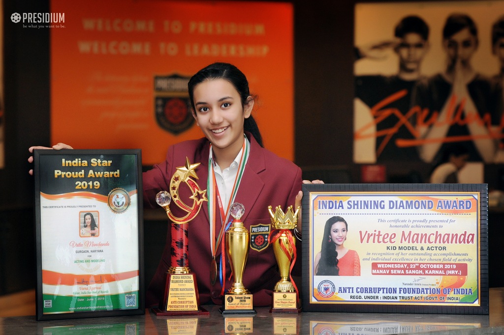 Vreeti Manchanda achievements in the field of advertisements 2019
