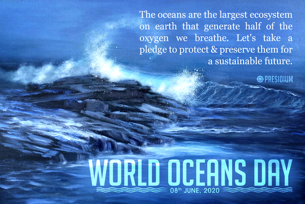 OCEANS DAY: THE OCEAN TAKES CARE OF US, LET'S RETURN THE FAVOUR!