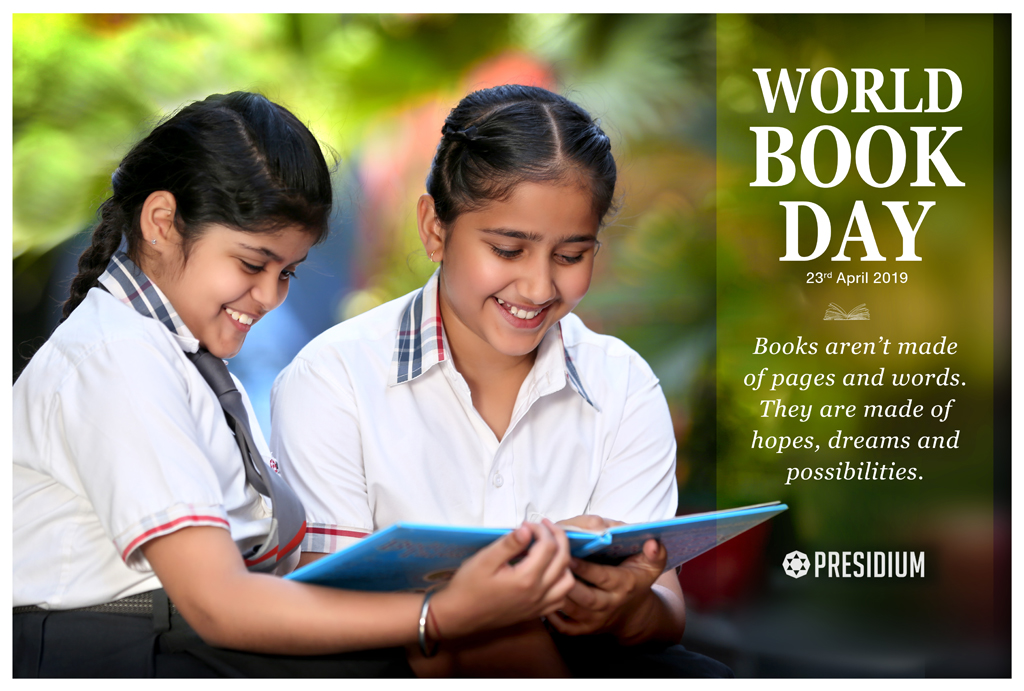 WORLD BOOK DAY: TODAY A READER, TOMORROW A LEADER!