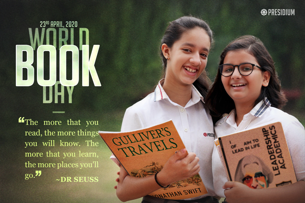 READER TODAY, LEADER TOMORROW, HAPPY WORLD BOOK DAY!