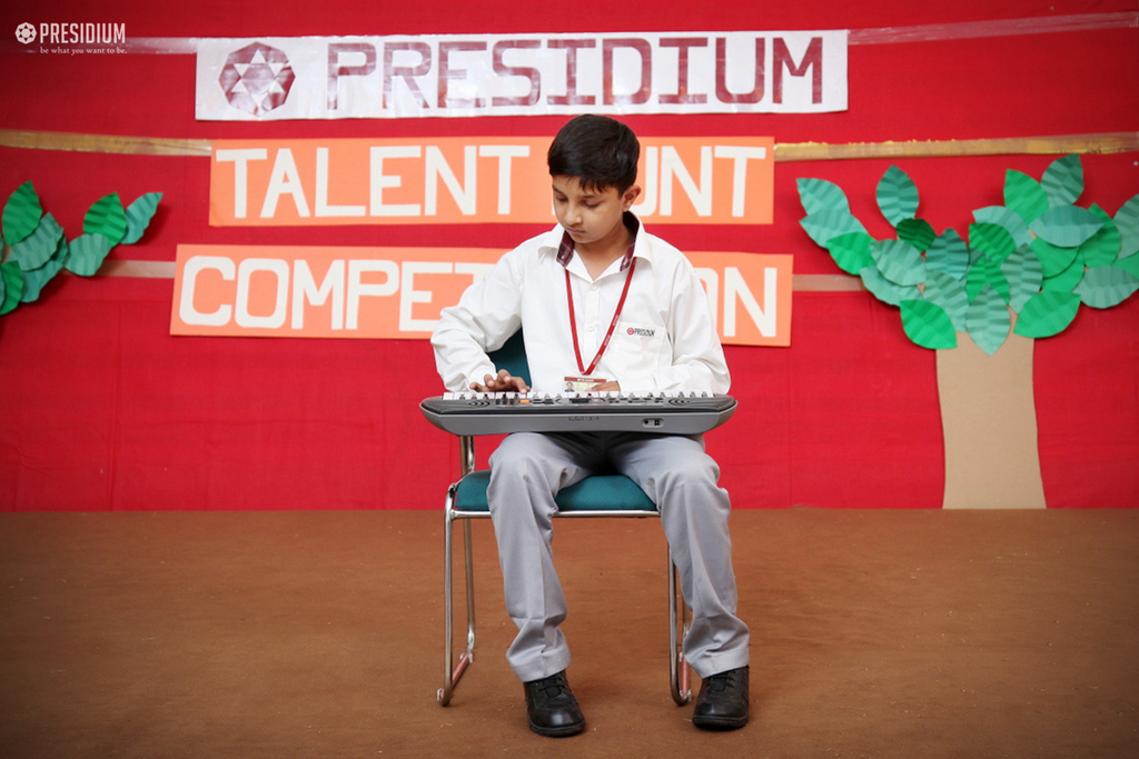 INTER-CLASS TALENT HUNT NURTURES PRESIDIANS' INTRINSIC GIFTS