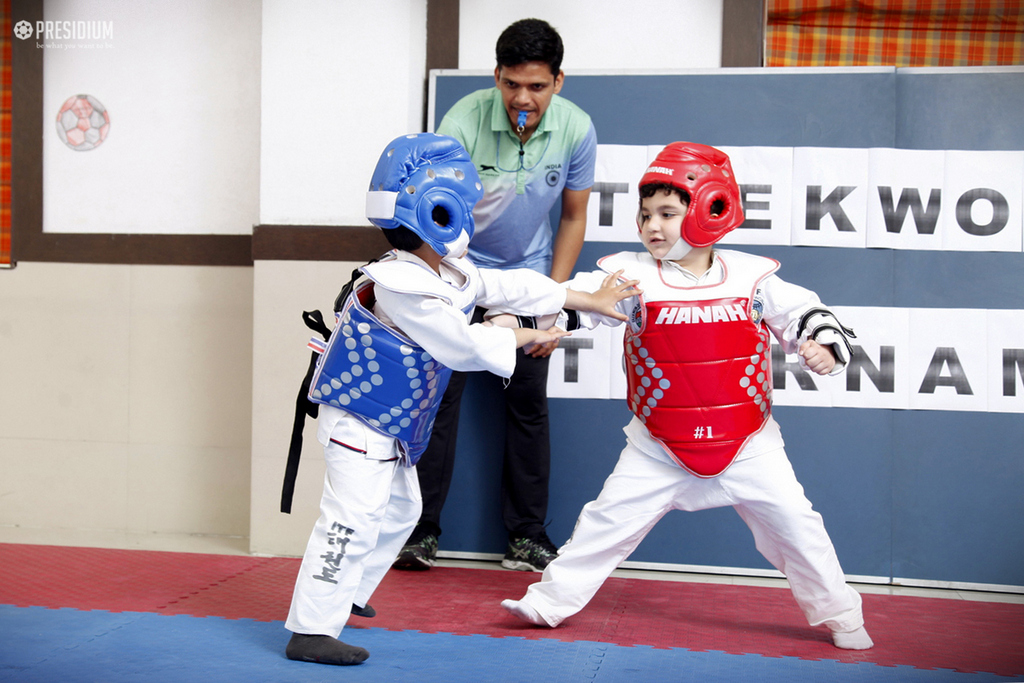 Intra-Class Taekwondo/Skating Championship