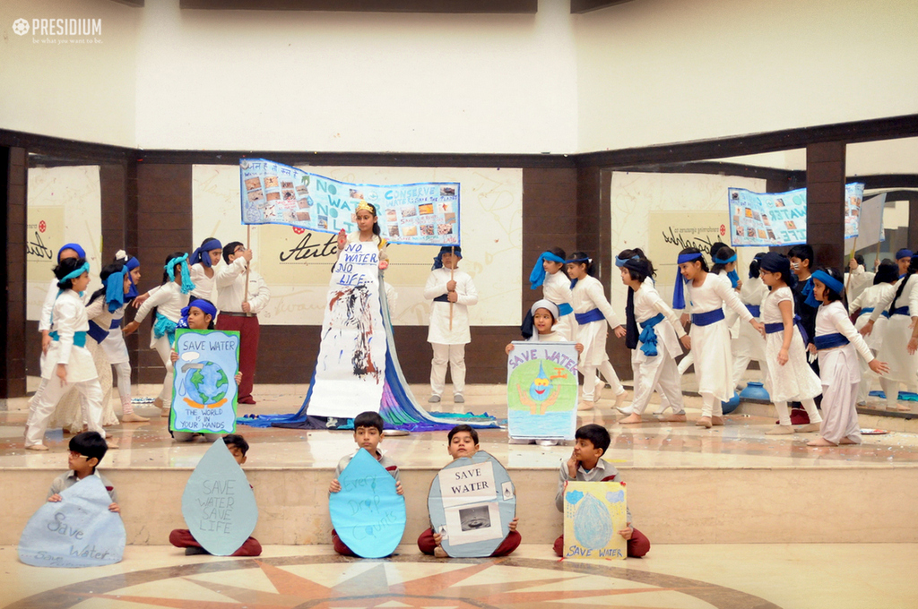 Special Assembly on Importance of Saving Water