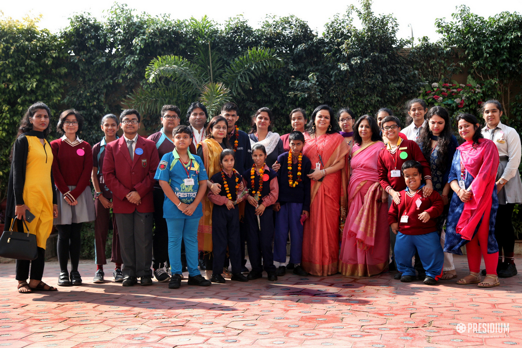 PRESIDIANS WELCOME THEIR FRIENDS FROM SPARSH