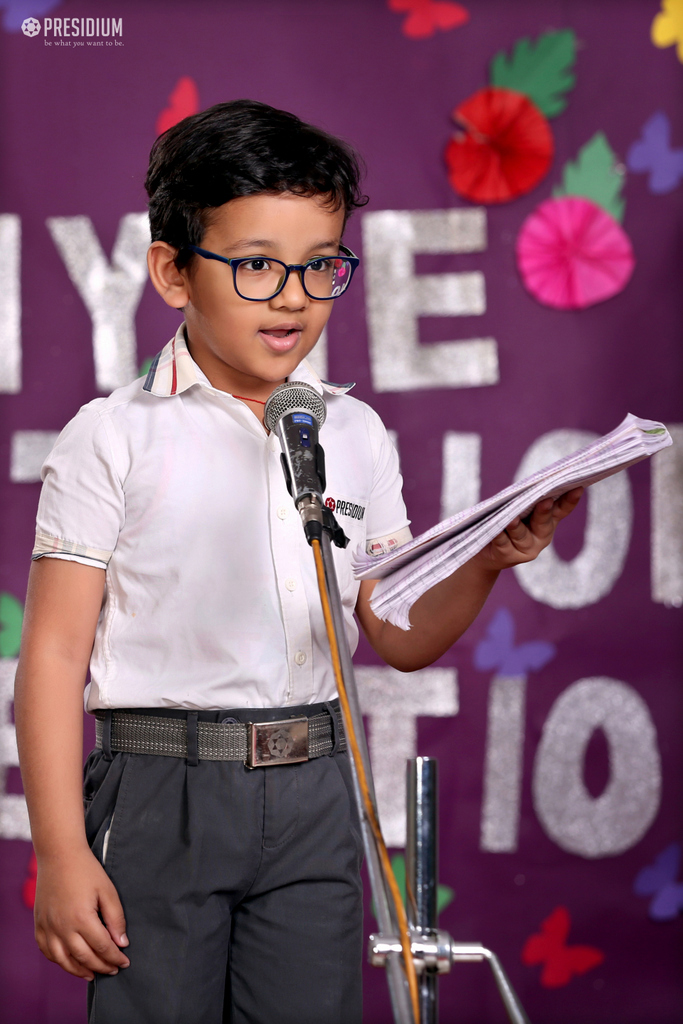 INTER CLASS POEM RECITATION COMPETITION 2019