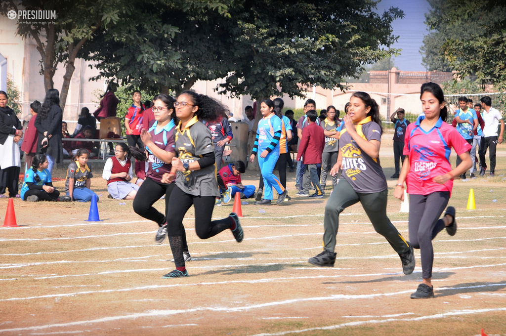 PRESIDIANS BUILD PHYSICAL & MENTAL HEALTH AT SPORTS WEEK